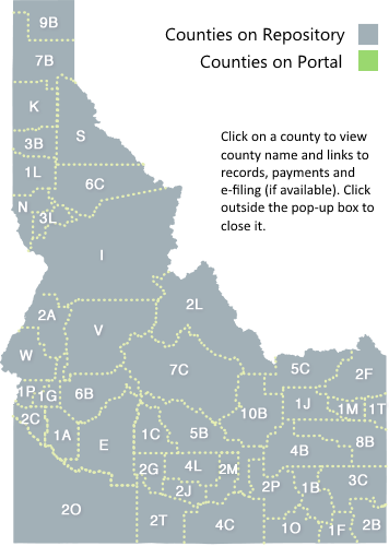 Idaho Map By County.Icourt Icourt